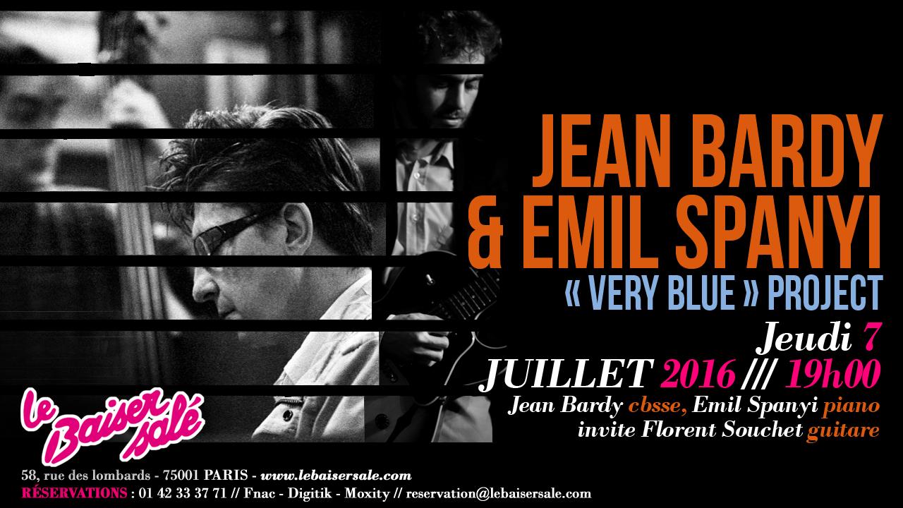Very Blue + guest @ Baiser salé   Paris   Île-de-France   France